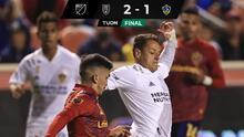 Chicharito anota, pero Real Salt Lake derrota a LA Galaxy con golazo