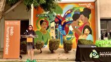 Develan mural para celebrar a trabajadores de salud y la importancia de la salud mental