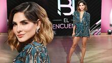 Con un mini vestido, Alejandra Espinoza lució espectacular en el segundo episodio de NBL El Reencuentro