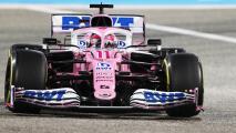 Falla mecánica impide podio a Sergio Pérez en Bahrein