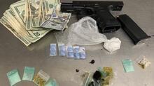 Oficial de policía en bicicleta descubre drogas y un arma robada en Salt Lake City