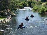 Hombre muere en el río Kern al intentar el rescate de sus hijos