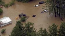 El fantasma del huracán Harvey regresa a Texas con fuertes inundaciones