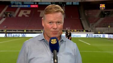 Ronald Koeman ve a un Barcelona con muy buen futuro
