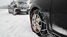 Cómo manejar seguro en invierno. Uso de cadenas en las llantas de tu carro