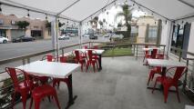 """""""Fue de gran beneficio"""": comerciantes sobre orden que permite servir alcohol en comedores al aire libre en California"""