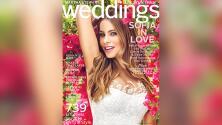 Sofía Vergara anda probándose trajes de novia a la vista de todos