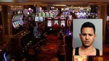 Hombre es arrestado tras ser descubierto haciendo trampa con las máquinas de un casino