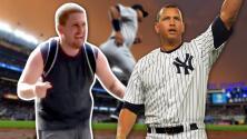 La inesperada visita que conmovió a Alex Rodríguez y le hizo extrañar el béisbol