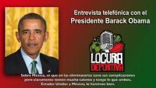 Obama ve bien a México y a EEUU para el mundial Brasil 2014