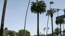 Este miércoles se mantiene el cielo ligeramente nublado en Los Ángeles