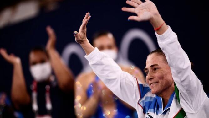 Se va una leyenda: Oksana Chusovitina se despide tras ocho Olímpicos