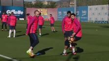 Barcelona recuperó a todos sus soldados y va con lo mejor en el clásico