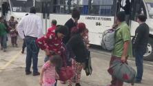 Cerca de 2,000 migrantes de la caravana ya se encuentran en la frontera entre Texas y México