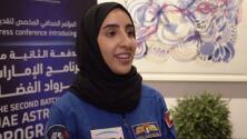 Conoce a Noura Al-Matrooshi, la primera mujer astronauta árabe de la historia