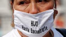 La desolación de tener a un familiar entre los más de 92,000 desaparecidos en México