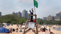 Ten en cuenta estas recomendaciones para evitar ahogamientos en las aguas del lago Michigan este verano