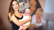 Con emotivo video, Sharon Fonseca muestra cómo está Blu Jerusalema tras la operación del paladar hendido