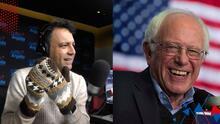 """""""Le quedaron maravillosos"""": La mamá de Omar hizo unos guantes iguales a los que usó Bernie Sanders en la inauguración"""