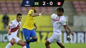 Brasil sigue con amplio dominio ante una Perú inoperante