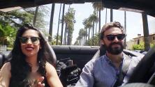 Jessica Cediel paseó en auto de lujo por LA con Iván Sánchez, ¿o fue con Yago?