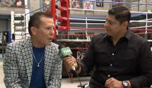 """Chávez reconoce que Durán lo habría """"ching***"""" en peso wélter"""