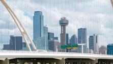 No olvides tu paraguas: Dallas se alista para una tarde de viernes con nublados y lluvias intermitentes