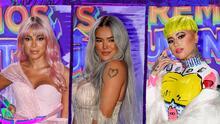 Tintes y tonos neón: los famosos que lucieron la tendencia de moda en el cabello para Premios Juventud