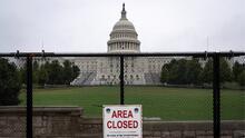 Con barricadas de acero, preparan el Congreso de EEUU para la mayor prueba de seguridad desde el asalto del 6 de enero