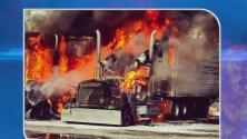 Bomberos controlaron las llamas en un estacionamiento de Hialeah Gardens