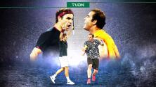 Leyendas vs Presente: Roger Federer vs 'Pete' Sampras