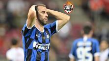 Inter de Milan y Antonio Conte prescinden de Diego Godín