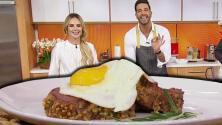 Chef Yisus invitó a Ximena Córdoba a su cocina para preparar una receta ideal para el hombre de la casa