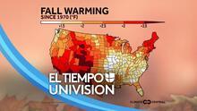 El otoño se está volviendo más cálido en Filadelfia y eso tendrá un efecto en los árboles