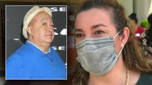 Agradecida, esposa de Luis de Alba habla sobre las donaciones para la cirugía del comediante