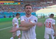 Laporte pone la calma... España hizo el 2-0 sonre Eslovaquia