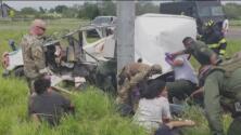 """""""Mis derechos fueron violados"""": varias víctimas del accidente vehicular en Texas son deportadas a México"""