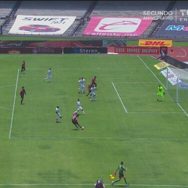 ¡Solo el susto! Anulan el gol de Quiñones por un fuera de lugar cerrado