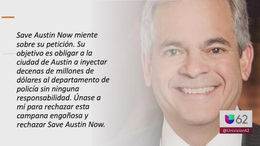Alcalde Steve Adler acusa a Save Austin Now de engañar a residentes