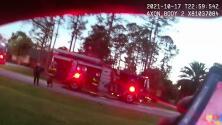 Rescatan a un niño de 3 años que se escondió mientras se incendiaba su casa en Florida