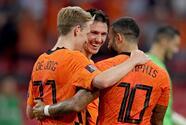 Apabullante triunfo de Países Bajos que asume el liderato de su grupo