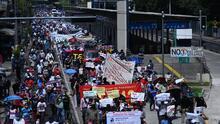 Manifestación multitudinaria en El Salvador contra Bukele y la implantación del bitcoin