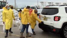 En un minuto: La tormenta tropical Nicholas avanza hacia Texas con previsión de fuertes lluvias y marejadas