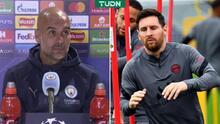 """Pep espera a Messi y habla de la MNM: """"No sé cómo detenerlos"""""""