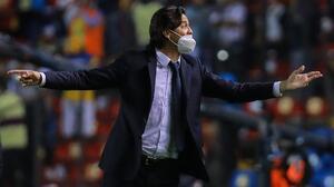 """Ante rumores, Solari asegura: """"Queremos ver a Benedetti en la cancha"""""""