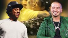 La profunda historia detrás del fuerte abrazo que J Balvin le dio a Jay Z un día muy importante