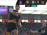 Raúl Jiménez rompe sequía goleadora con el Wolverhampton ante Southampton