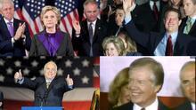 Carter, Clinton, Al Gore y McCain: todos ellos perdieron y todos aceptaron su derrota