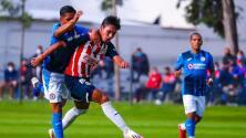 Cruz Azul 'vitaminado' vence a las inferiores Sub 20 de Chivas