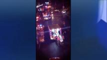 Accidente vehicular múltiple deja al menos un muerto y provoca el cierre por varias horas de la autopista Kennedy